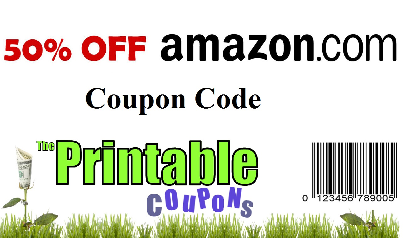 Discount coupon code for amazon