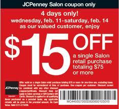 Jcpenney Salon Coupon